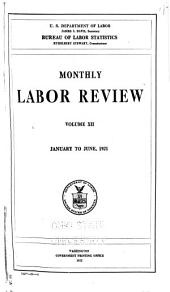 Monthly Labor Review: Volume 12