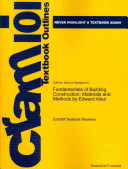 Outlines and Highlights for Fundamentals of Building Construction PDF