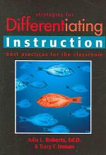 Strategies for Differentiating Instruction