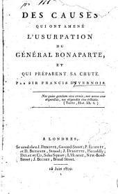 Des causes qui ont amené l'usurpation du général Bonaparte