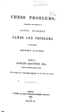 Chess Problems PDF