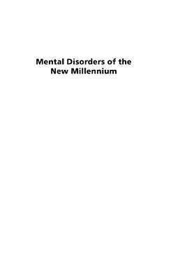 Abnormal Behavior in the 21st Century  Three Volumes  PDF
