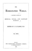 The Hom  opathic World PDF