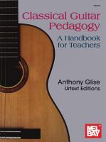 Classical Guitar Pedagogy PDF