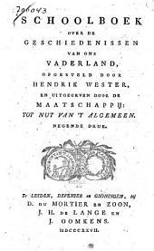 Schoolboek over de geschiedenissen van ons vaderland