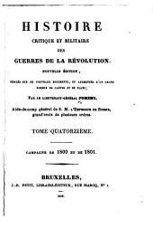 Histoire critique et militaire des guerres de la Révolution: Volume14