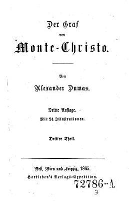 Der Graf von Monte Christo PDF