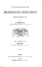 Streffleurs militärische Zeitschrift: Band 3