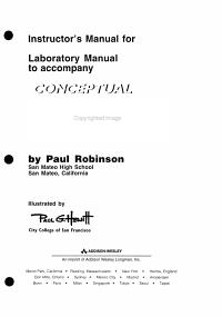 MasteringPhysics   For Conceptual Physics Book