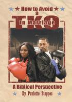 How to Avoid a Tko in Marriage PDF