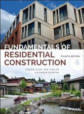 Fundamentals of Residential Construction: Edition 4