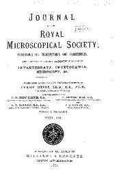 Journal of the Royal Microscopical Society: Volume 3