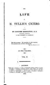 The Life of M. Tullius Cicero: Volume 2