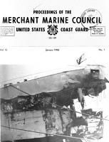 Proceedings of the Merchant Marine Council PDF