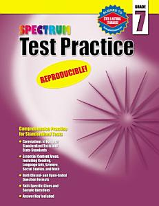 Test Practice  Grade 7 PDF