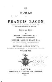 Works of Francis Bacon: Volume 7