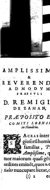 Canonicorum regularium ordinis S. Augustini origines