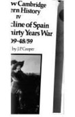 The New Cambridge Modern History Volume 4 The Decline Of Spain And The Thirty Years War 1609 48 49