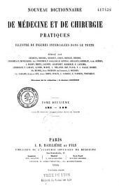 Nouveau dictionnaire de médecine et de chirurgie pratiques: Volume13