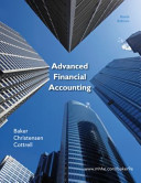 Loose Leaf Advanced Financial Accounting with Connect Plus PDF
