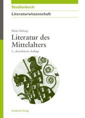 Literatur des Mittelalters: Ausgabe 2