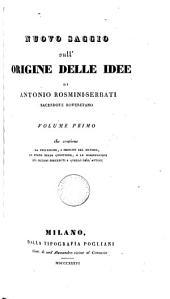 Nuovo saggio sull'origine delle idee