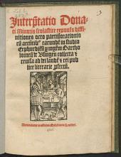 Interpretatio Donati minoris scolastice exponens diffinitionis octo partium orationis