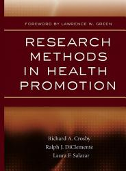 Research Methods In Health Promotion Book PDF