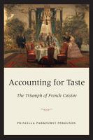 Accounting for Taste PDF