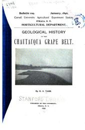 Geological History of the Chautauqua Grape Belt