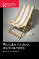 Routledge Handbook of Leisure Studies PDF