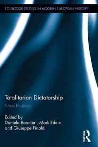 Totalitarian Dictatorship Book