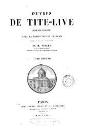 Œuvres ... Histoire romaine, avec la trad: Volume 2
