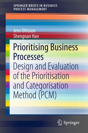 Prioritising Business Processes