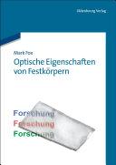 Optische Eigenschaften von Festk  rpern PDF