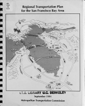 Regional Transportation Plan for the San Francisco Bay Area PDF