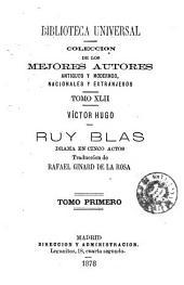 Ruy Blas: drama en cinco actos