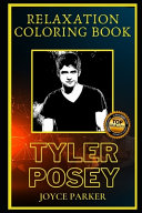 Tyler Posey Relaxation Coloring Book