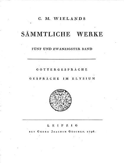 C  M  Wielands s  mmtliche Werke PDF