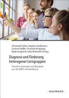 Diagnose und F  rderung heterogener Lerngruppen PDF