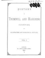 History of Trumbull and Mahoning Counties PDF