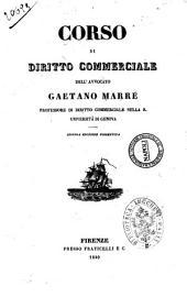 Corso di diritto commerciale Gaetano Marré