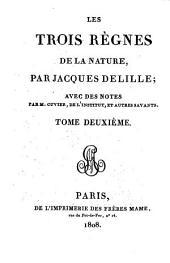Les trois règnes de la nature: Volume2