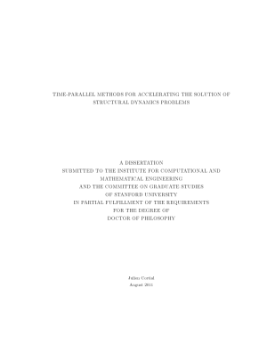 Time parallel Methods for Accelerating the Solution of Structural Dynamics Problems