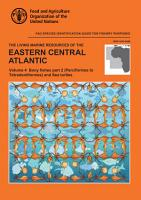 The living marine resources of the Eastern Central Atlantic  Volume 4  Bony fishes part 2  Perciformes  PDF