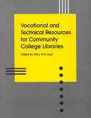Vocational and Technical Resources for Community College Libraries PDF