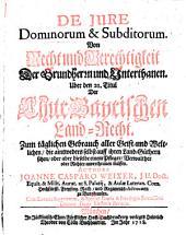 De Iure Dominorum & Subditorum