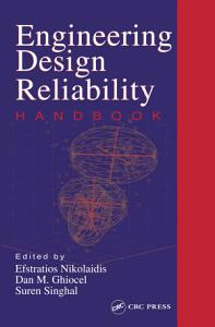 Engineering Design Reliability Handbook PDF