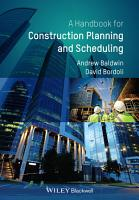 Handbook for Construction Planning and Scheduling PDF