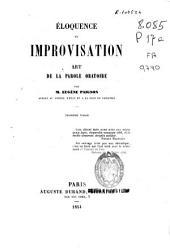 Éloquence et improvisation: art de la parole oratoire